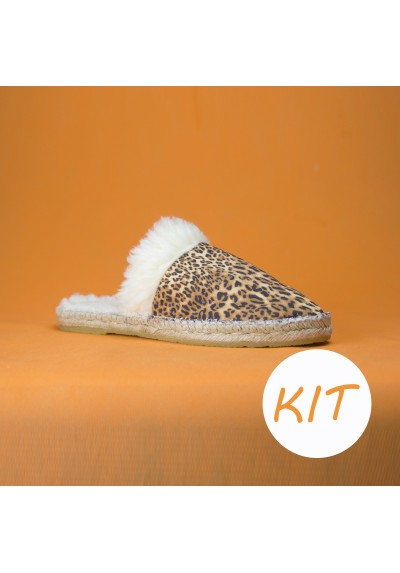 KIT DIY Alpargata Cuadros