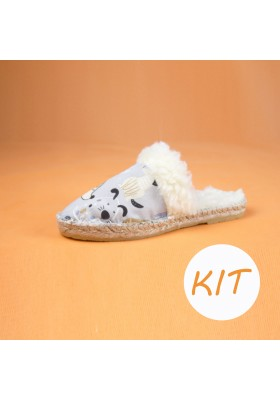 KIT DIY Alpargata Perritos